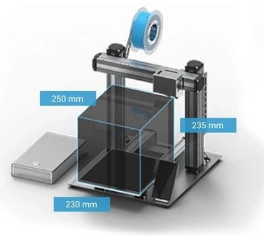 Snapmaker 2.0 A250 imprimante 3D gravure laser CNC