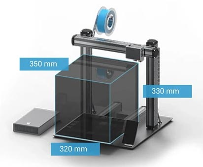 Snapmaker 2.0 A350 imprimante 3D gravure laser CNC