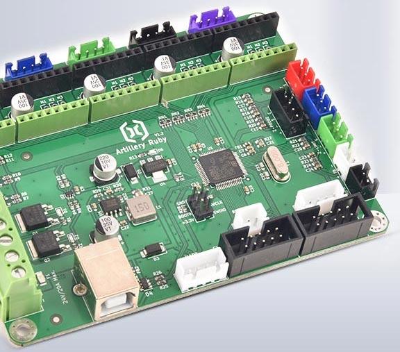 carte mère motherboard Artillery Ruby 32bits imprimante 3D Sidewinder X2