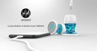 WeMed stéthoscope connecté imprimé en 3D Formlabs
