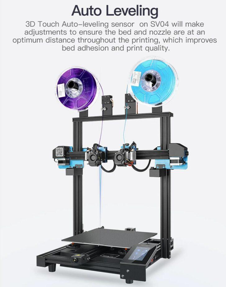 3D touch imprimante 3D