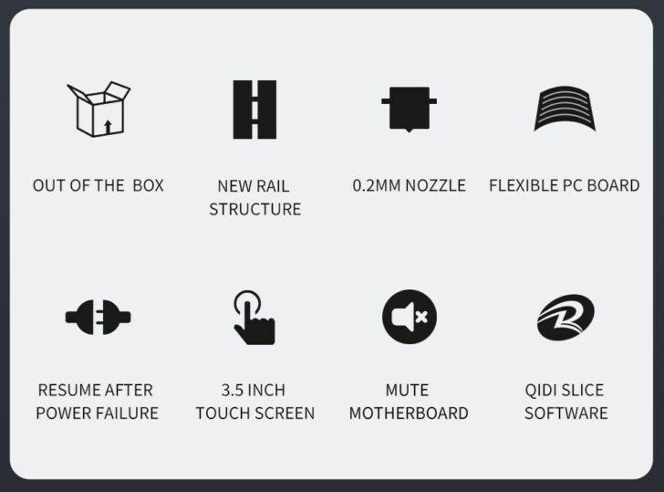 caractéristiques qidi tech i-mates