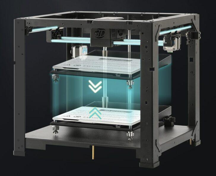 châssis métal imprimante 3D