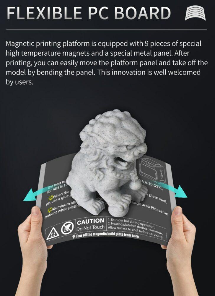 plateau magnétique abs