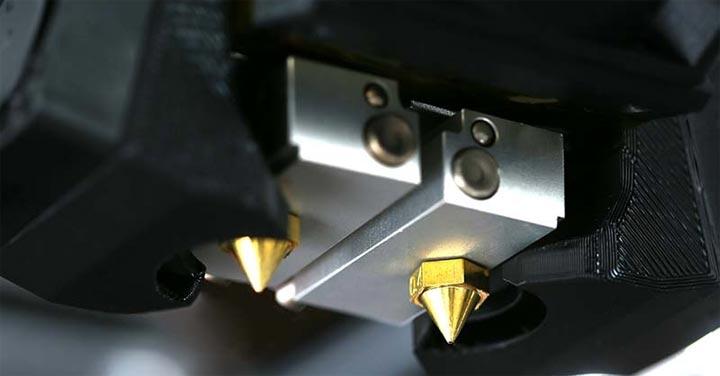 Raise3D dual extrudeur