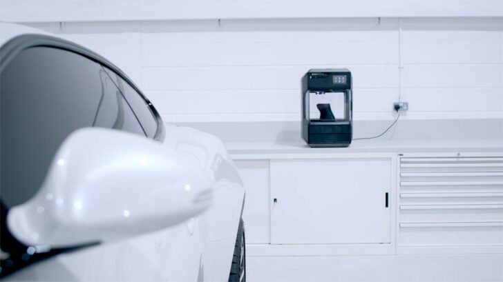 Aston Martin imprimante 3D MakerBot