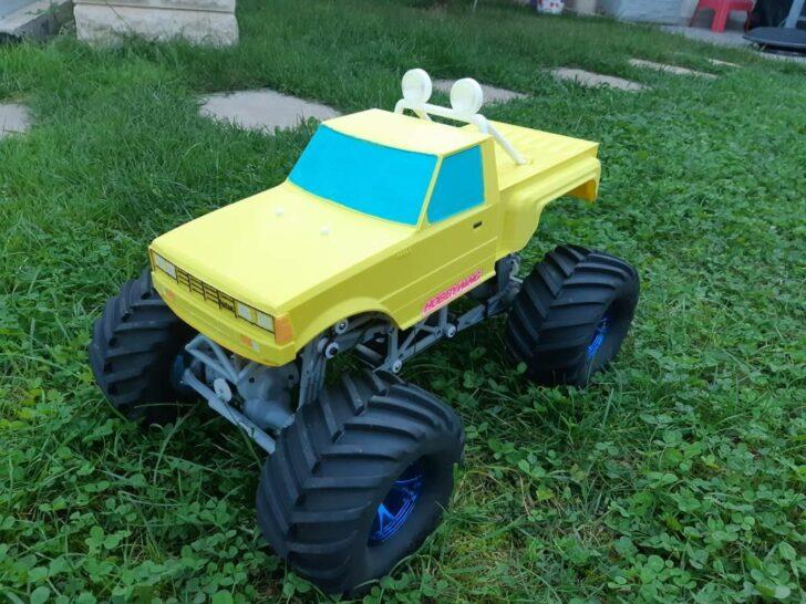 monster truck imprimé en 3D