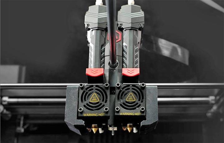 Raise3D Pro3 dual extrudeur