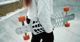 skateboard skate imprimé en 3D printed